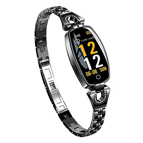 H8 0.96 pulgadas recordatorio de alarma monitor de sueño impermeable fitness pulsera inteligente