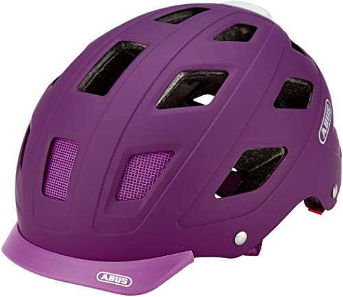 Abus 77225-2 Casco Bicicleta, Unisex Adulto, Rosa (Core Purple), M