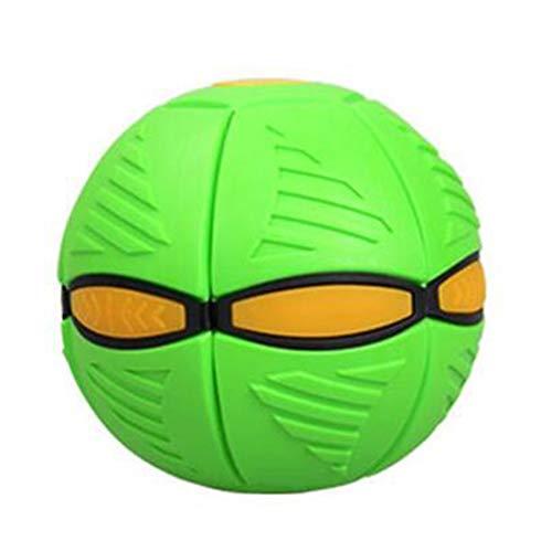 Voetbal voor kinderen, Magic Foot Light Ufo Creatieve bal Vervorming Bal Ademende Bal Ufo Volwassen Decompressie Speelgoed Four-Color Lamp Children's Gift
