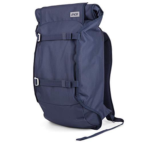 AEVOR Trip Pack - erweiterbarer Rucksack, ergonomisch, Laptopfach, wasserabweisend - Blue Eclipse