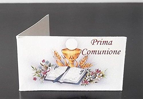 Le Gemme di Venezia 30 Bigliettini per Bomboniera Prima Comunione Stampa Personalizzata a Colori in Omaggio