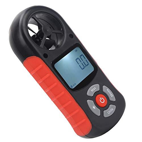 Probador De Velocidad Del Viento, Anemómetro, Instrumento Meteorológico, Para Escalada, Senderismo Ultraligero, Pequeño