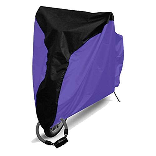 Funda Bicicleta Cubierta de Polvo de Lluvia Impermeable Cubierta de Bicicleta UV Protección UV para Bicicleta Bicicleta Utility Ciclismo Cubierta de Lluvia al Aire Libre 4 Tamaño S/M/L/XL Ciclis