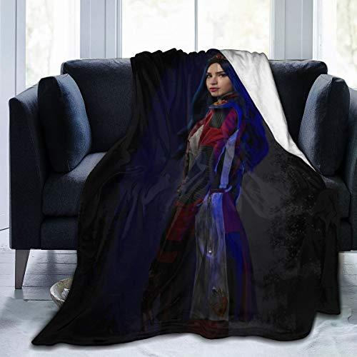 Descendants 3 Evie Ultra-Soft Micro Fleece Blanket Throw Super Soft Hypoallergenic Plush Bed Couch Living Room 50'x40'