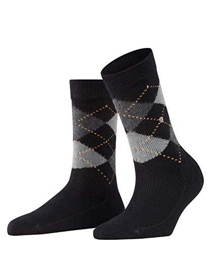 BURLINGTON Damen Socken Whitby - Warm Und Weich, 1 Paar, Schwarz (Black 3000), Größe: 36-41