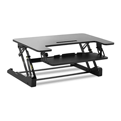 Fromm & Starck Rialzo per Scrivania Standing Desk Supporto per PC Regolabile STAR_SSD_01 (8 livelli, 16,5-41,5 cm, Regolabile)