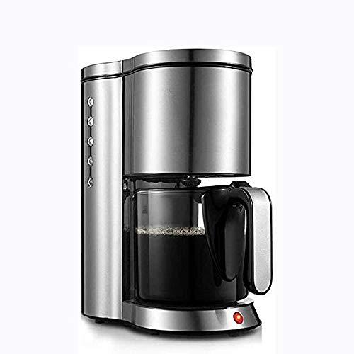 ROLL Espresso, máquina de café, Acero Inoxidable doméstico, Comercial Aislamiento automático Integrado por Goteo Cafetera de Filtro, Puede Preparar té