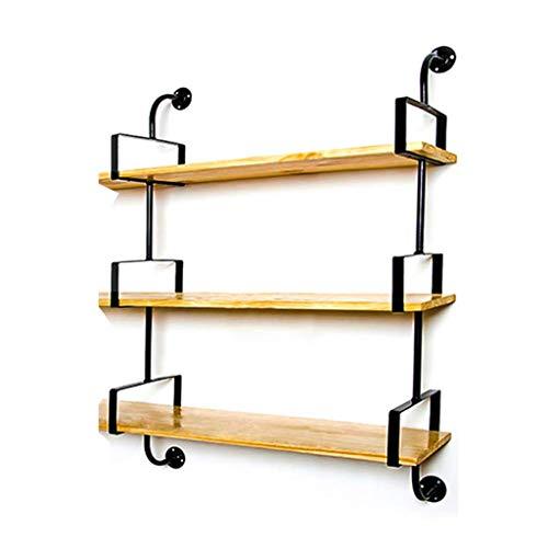 hrpay wandhalterung für Regal Open Rack Teile Support Kit Wandmontage Industrielle DIY Wandrohrregal DIY Projekthalterungen Es
