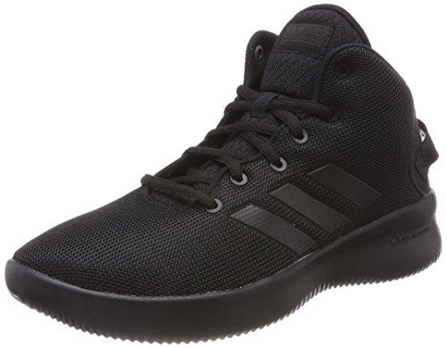 adidas Unisex-Kinder Cloudfoam Refresh Mid Fitnessschuhe, Schwarz (Negbas/Negbas/Negbas 000), 28 EU
