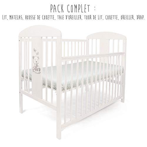 PACK COMPLET Lit pour Bébé TOMI 20 -\