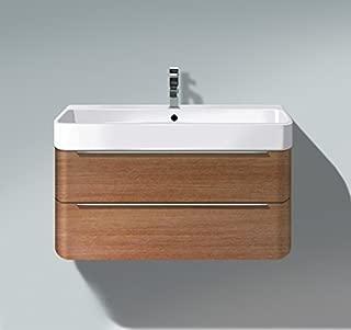 Duravit H2636501313 HD2 Vanity unit WM Ame Walnut 380x775x480mm, f.231880, 2 drawers, American