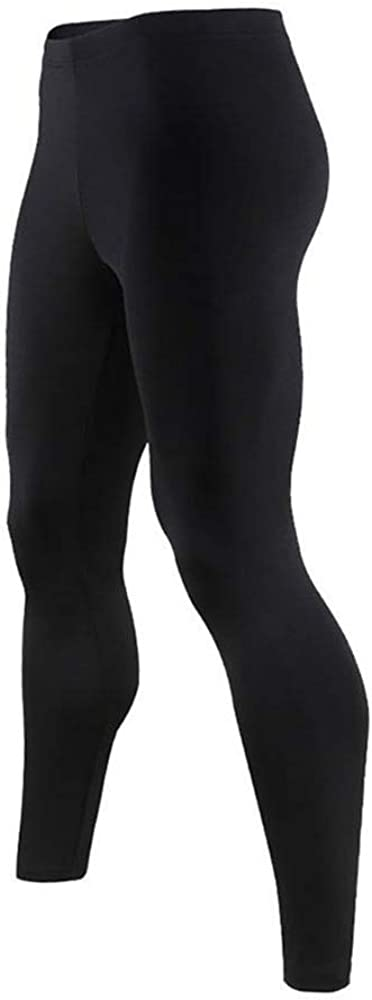 9M Mens Ultra Soft Thermal Underwear Leggings Bottoms Compression Pants with Fleece Lined