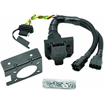 Tow Ready 20137 Multi-Plug T-One Connector Assembly,Black