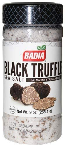 Badia Black Truffle Sea Salt 9 oz
