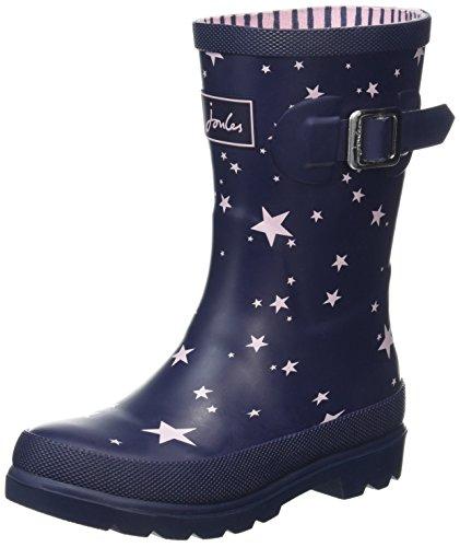 Joules J Girls Wellington Boots - Navy Star