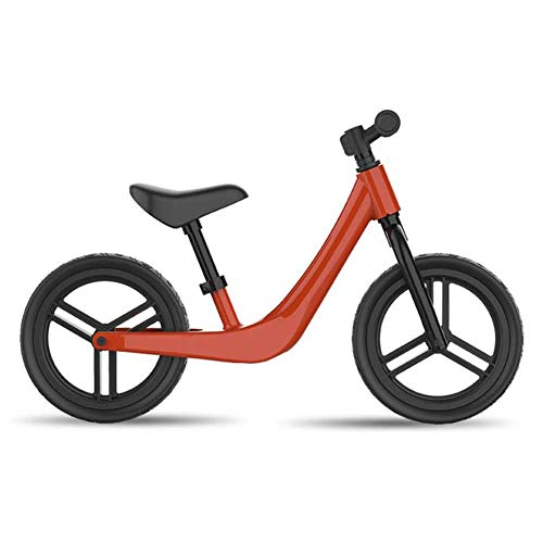 Buy Discount RXRENXIA Balance Bike for 2 3 4 5 6 Years Old Boys Girls, Carbon Steel Frame No Pedal Walking Balance Bike Training Bicycle for Kids and Toddlers,Red