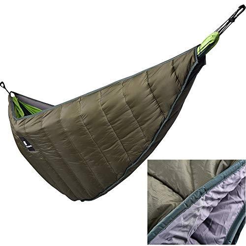 DETECH Winter Warm Hammock Underquilt Lightweight Hammock Gear Quilt Packable Full Length Under Blanket Camping Survivor Hanging Bed