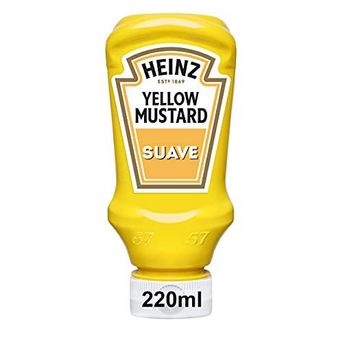 Heinz Mostaza Amarilla Suave en Bote, 240g