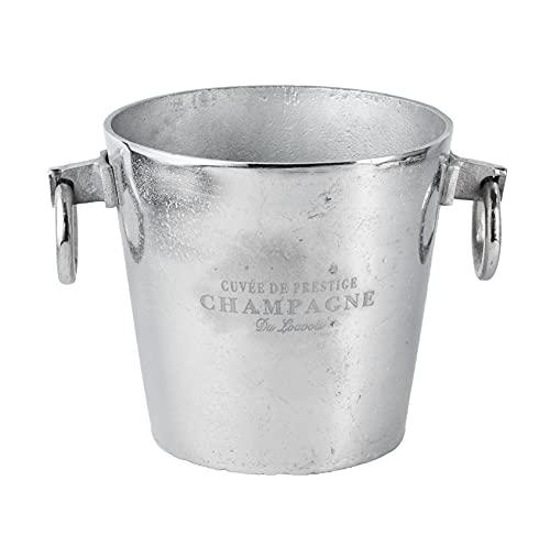 Michael Noll Glacette per champagne, in alluminio, argento, S, M, L, 20 cm, 23 cm, 32 cm (32 x 24 x 23)