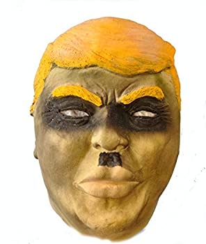 Donald Trump Zombie Hitler Foam Latex Mask Black