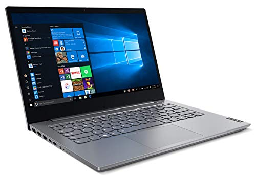 "Lenovo Thinkbook 14 IIL Notebook, Display 14"" Full HD IPS, Processore Intel Core i5-1035G1, 256 GB SSD, RAM 8 GB, Windows 10, Mineral Grey"