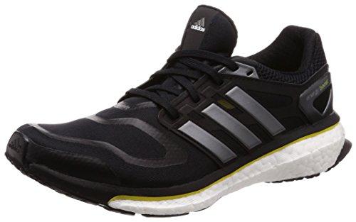 Adidas Energy Boost m, Zapatillas de Trail Running Hombre, Negro (Negro1/Met Neo/Amaint 000), 47 1/3 EU