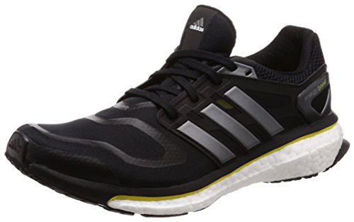 adidas Herren Energy Boost Laufschuhe, Schwarz (Black1/Neirme/Vivyel 000), 40 EU