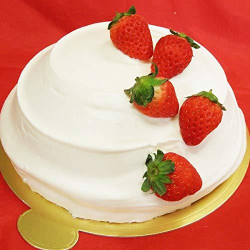 濃厚生クリームと苺のスノードームショートケーキ18cm