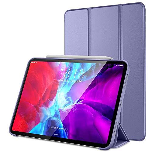 Hülle Alogy Buchcover für iPad Air 4 2020/ iPad Pro 11. Tablethülle Es schützt das Tablet vor Beschädigungen (Lavendel)