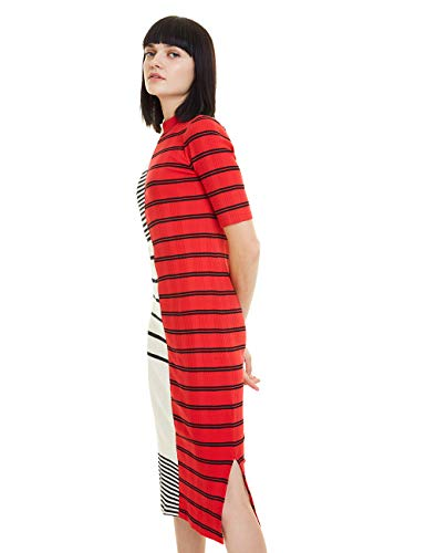 Desigual Damen Dress Karen Kleid, Weiß (Blanco 1000), (Herstellergröße: XX-Large)