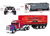 IndusBay Remote Control Carrier Truck Hauler Container 12 Wheeled Big Size 24 inches