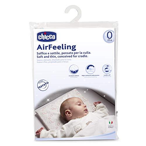Chicco Airfeeling Cuscino per Culla, 0M+, Bianco