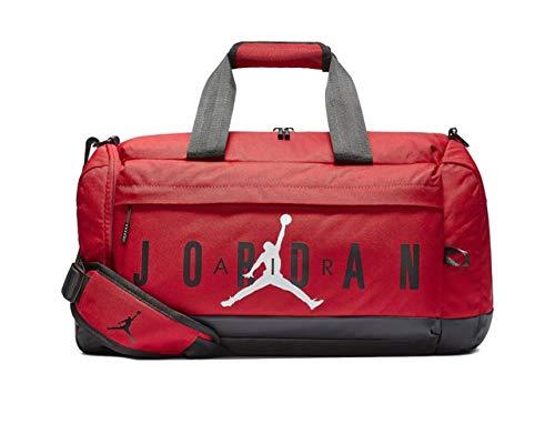 Nike Air Jordan Velocity Duffle Bag (One Size, Gym Red)