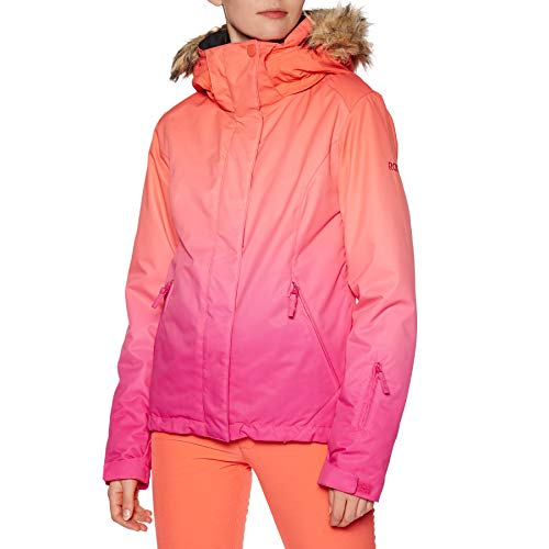 Roxy Damen Jet Ski SE-Snow Jacke, Beetroot pink Prado Gradient, L