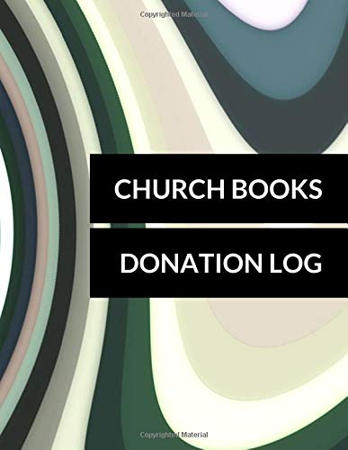 Church Books Donation Log: Donation Log