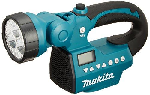 マキタ 充電式ラジオ MR050 AM FMラジオ ライト付き 対応バッテリーDC14.4V 18V