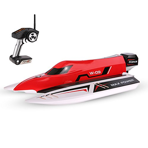Faironly WL915 2,4 Ghz2CH F1 45 km/std Brushless High Speed ??Racing Boot Modell RC Boot Schnellboot Kinder Geschenke RC Spielzeug mit 3 S 11,1 V LiPo Batterie