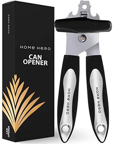 Stainless Steel Can Opener Manual Smooth Edge Can Opener Smooth Edge Manual Can Opener - Manual Can Openers Manual Stainless Steel Opener Manual Hand Can Opener Safety Hand Held Can Opener Safe