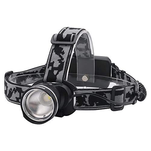 ZHENXIN Lampe Frontale LED Boruit Rj-2190 3-Mode T6 LED Headlamp Zoomable Headlight Flashlight Waterproof Camping Fishing Head Torch