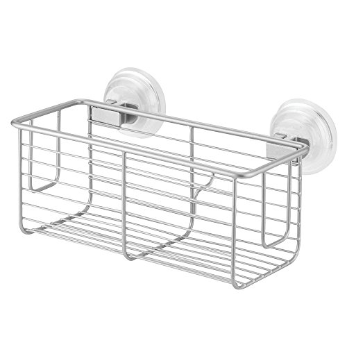 Price comparison product image iDesign Classico Suction Basket,  Silver
