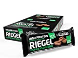 Layenberger High Protein Riegel Espresso Nero, (18 x 35 g) -