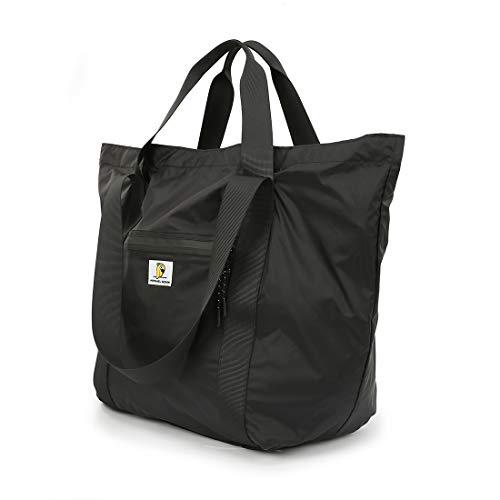 Comiwa ボストンキャリー ジムバッグ ボストンバッグ スポーツバッグ キャリーバッグ 機内持ち込み トラベルバッグ 防水 軽量 男女兼用 合宿 出張 小旅行 帰省 (ブラック)