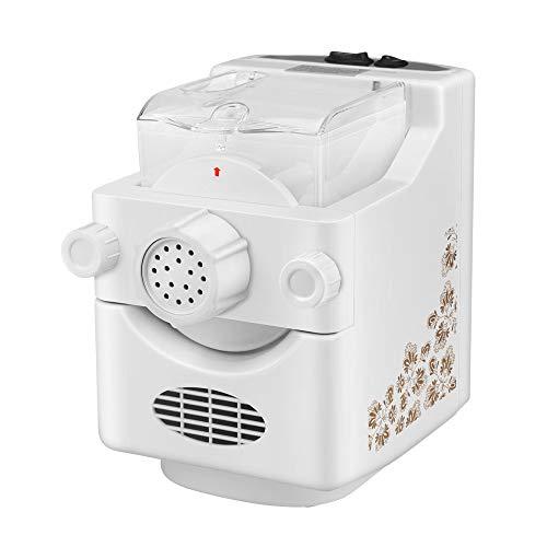 XQK Vollautomatische intelligente Nudelmaschine 500g Kapazität Multifunktions Frischnudelmaschine für den Haushalt mit 9 Arten von Nudelmahlform für frische Nudeln, Spaghetti, Makkaroni