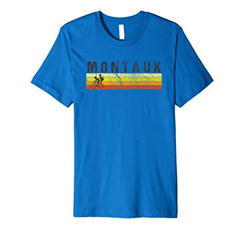Montauk Long Island T-Shirt - Vintage Style Beach Premium T-Shirt