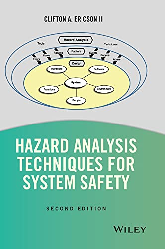 Compare Textbook Prices for Hazard Analysis Techniques for System Safety 2 Edition ISBN 9781118940389 by Ericson II, Clifton A.