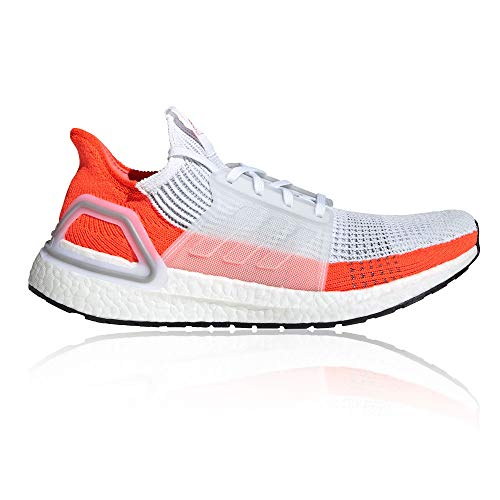 adidas Ultra Boost 19 M White Blue Tint Grey Two 45