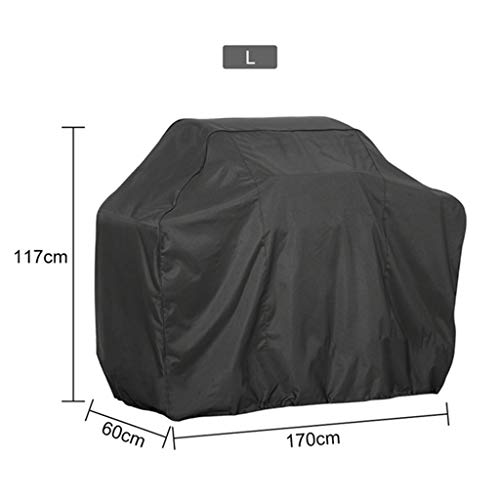 niumanery BBQ Cover Outdoor Dust Waterproof Weber Heavy Duty Grill Cover Rain Protective 7#