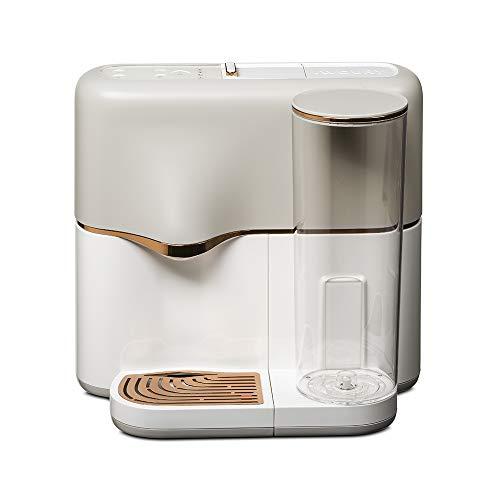 AVOURY One Teemaschine: Tee-Kapselmaschine, inklusive Wasserfilter und 8 Bio-Teesorten in Kapseln, Farbe: Copper-Cream
