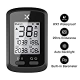 Wantacme XOSS Wireless Bike Computer GPS Cycling Computers IPX7 Waterproof Bluetooth 5.0/ANT+ Bicycle Speedometer Odometer LCD Automatic Backlight for Road Bicycle MTB Bicycle (Sensor not Included)