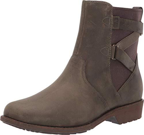 Teva Damen Ellery Ankle Waterproof Boots Stiefelette, Dark Olive, 41 EU